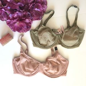 Lot of 2 Victoria's Secret Body By Victoria Bras